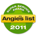 Rousculp's Heating & Cooling is an Angie's List Super Service Award Winner